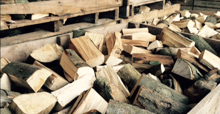kiln dried logs firewood